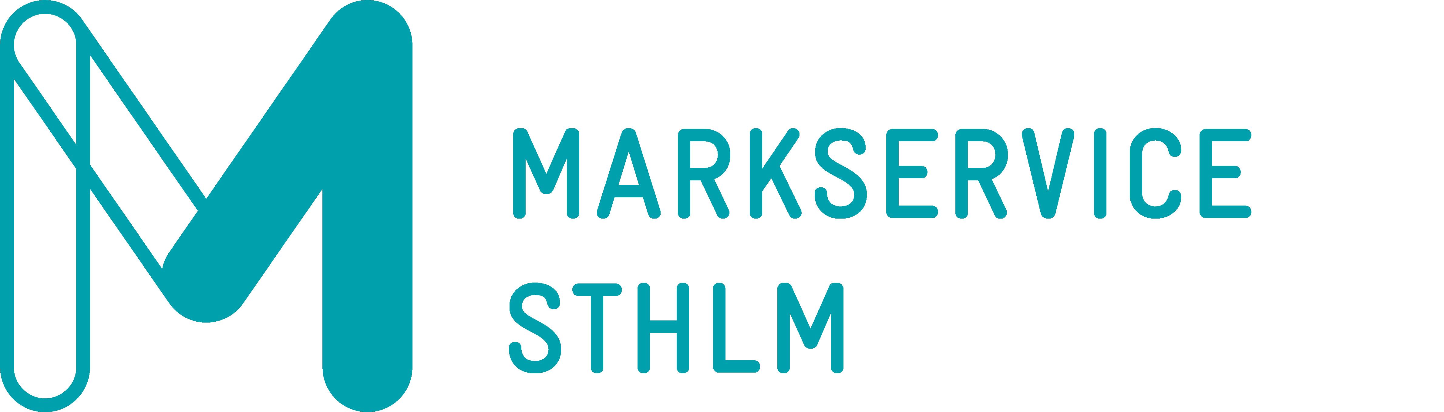 Logotyp Markservice Sthlm